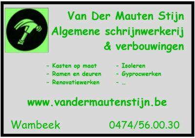 33 logo sponsoring VDM Stijn