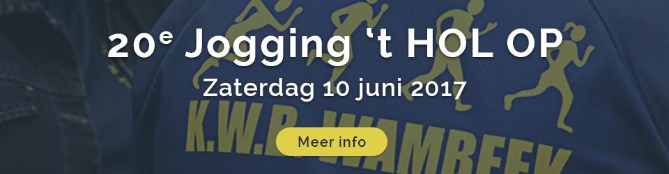 Jogging 't Hol Op 2017 editie 20