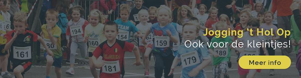 Jogging 't Hol Op 2017 kinderjogging