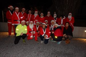 Kerstloop kwb joggingteam Wambeek, 19 december 2019