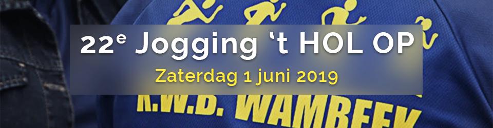 Jogging 't Hol Op 2019 editie 22
