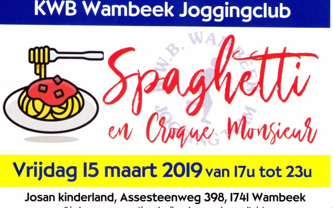 15 Maart 2019 eetfestijn